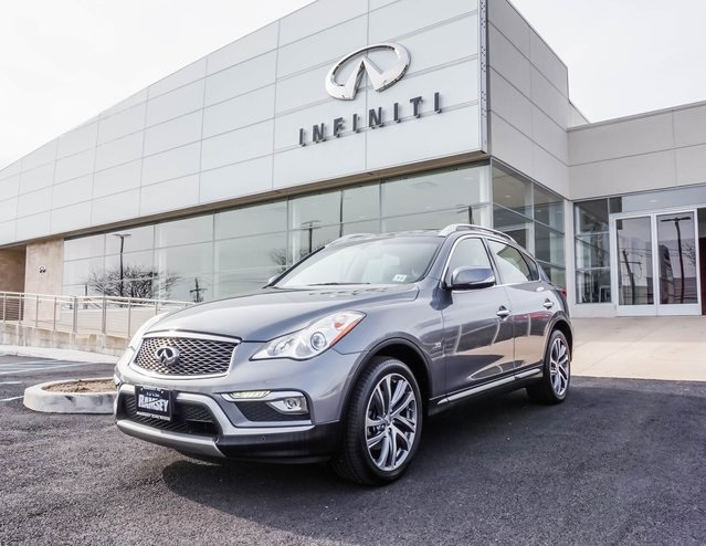 Certified Pre-Owned 2017 INFINITI QX50 TECHNOLOGY PKG