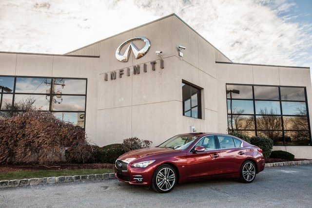 Certified Pre-Owned 2015 INFINITI Q50 Premium All Wheel Drive Navigation