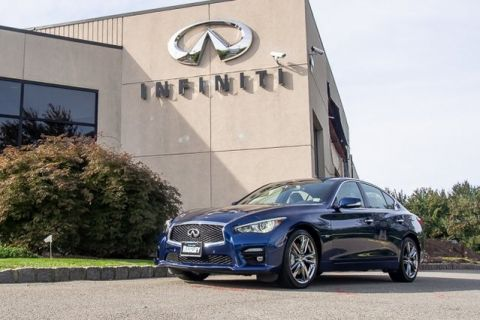 Certified Pre-Owned 2017 INFINITI Q50 SPORT ALL WHEEL DRIVE
