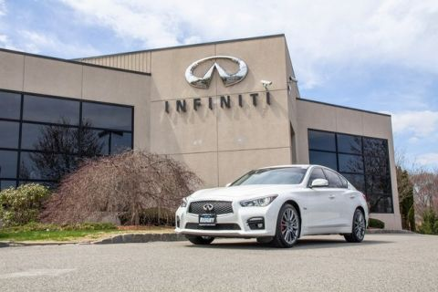 Certified Pre-Owned 2017 INFINITI Q50 All Wheel Drive Premium Plus Red Sport 400 HP