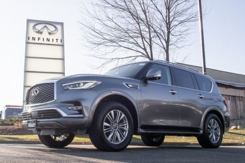 Certified Pre-Owned 2018 INFINITI QX80 All Wheel Drive